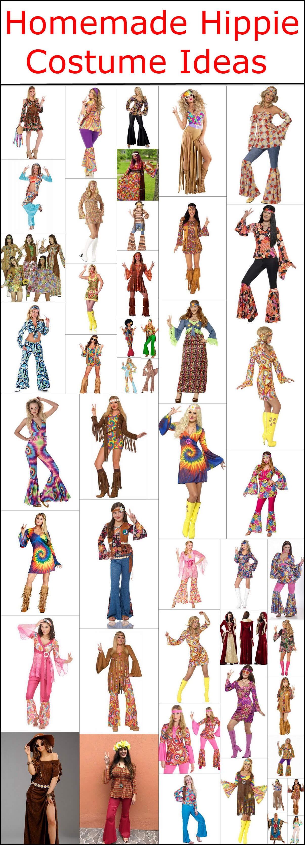 Homemade Hippie Costume Design Ideas Hippie Boho Style