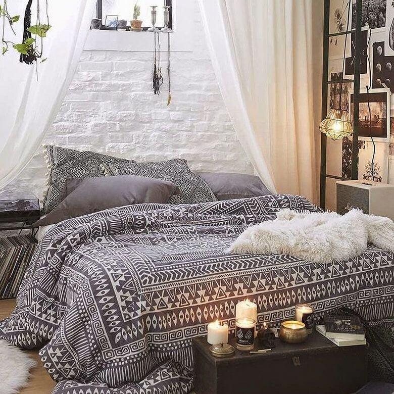 hippie  boho style bedroom inspirations  hippie boho style